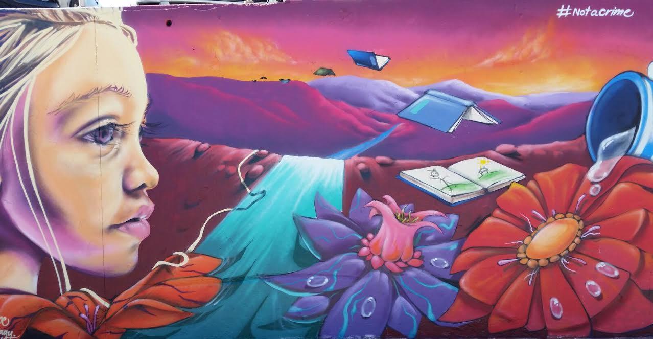 Street art at Bondi Beach to boost awareness