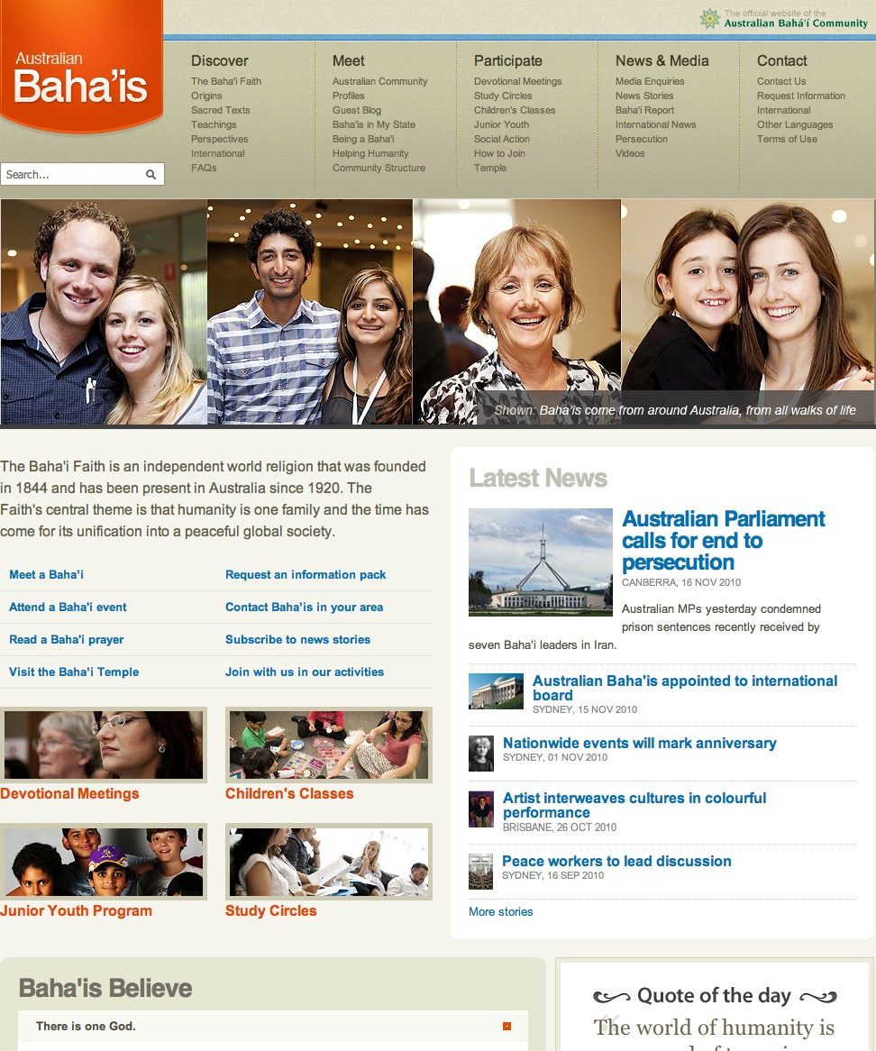 Bahai dating site australia